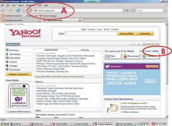 Cara Membuat / Mendaftar Email Di Yahoo
